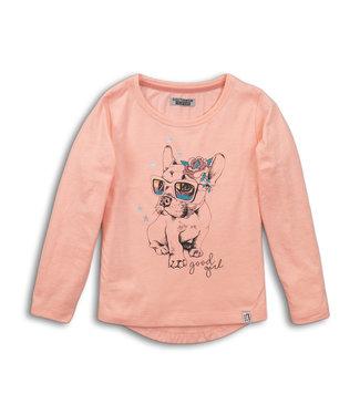 DJ Dutch T-shirt Bulldog Peach