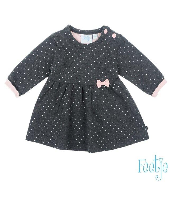 Feetje-baby Jurk AOP - Dots