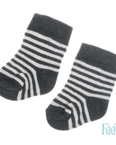 Feetje-baby Sok Antraciet - Mini Person