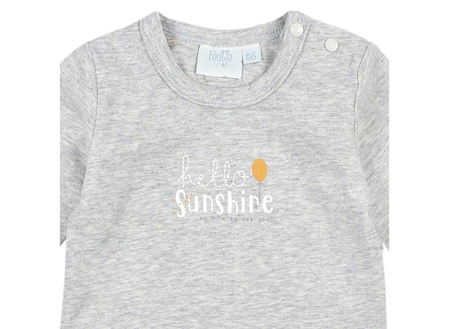 Longesleeve Grijs - Hello Sunshine