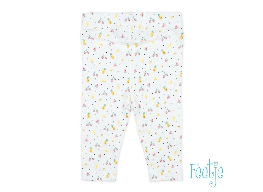 Legging AOP Wit - Sweet By Nature