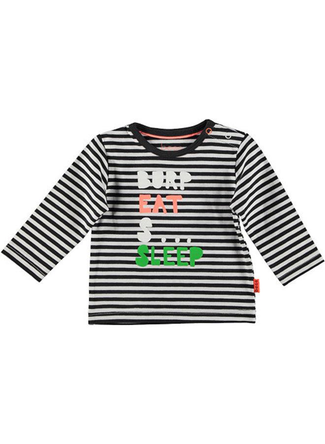 Shirt l.sl. Striped Burp