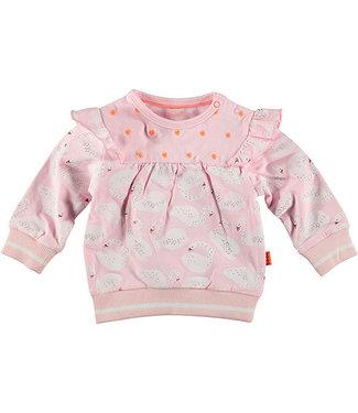 B.e.s.s Sweater Ruffle Swan Pink