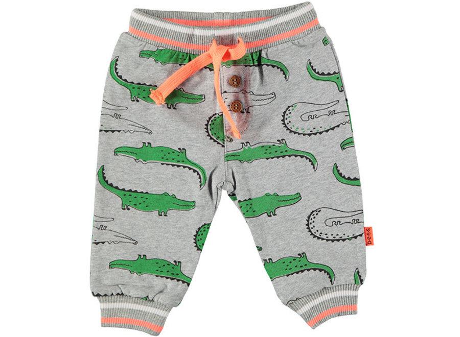 Pants AOP Crocodile Grey