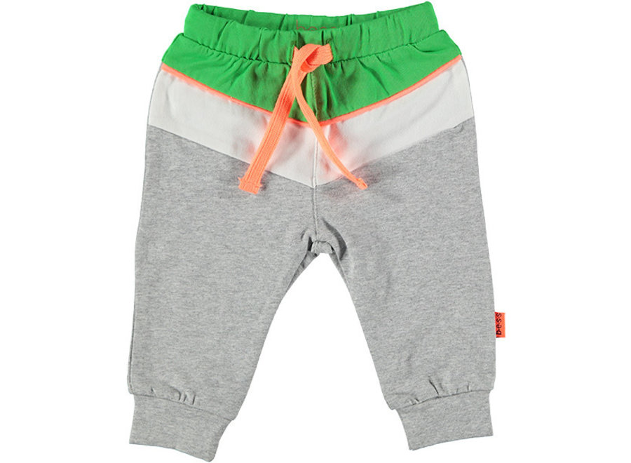 Pants Colorblock Green