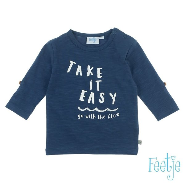 Longsleeve Take It Easy - Smile & Wave