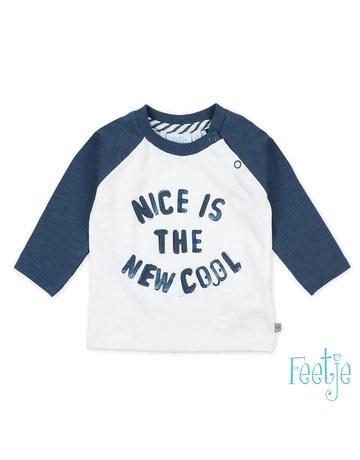 Feetje-baby Longsleeve Nice Is - Smile & Wave