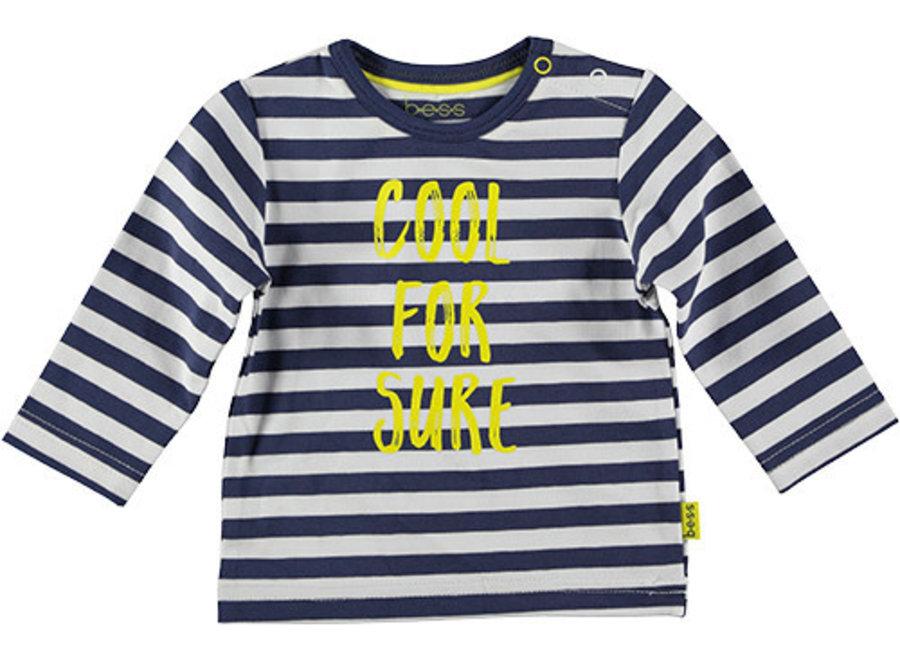 Shirt l.sl. Striped Cool