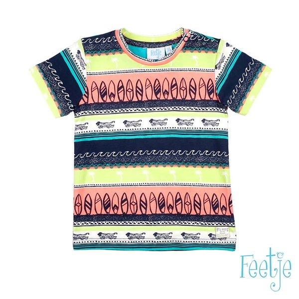 T-shirt AOP Indigo - Mini Wanderer