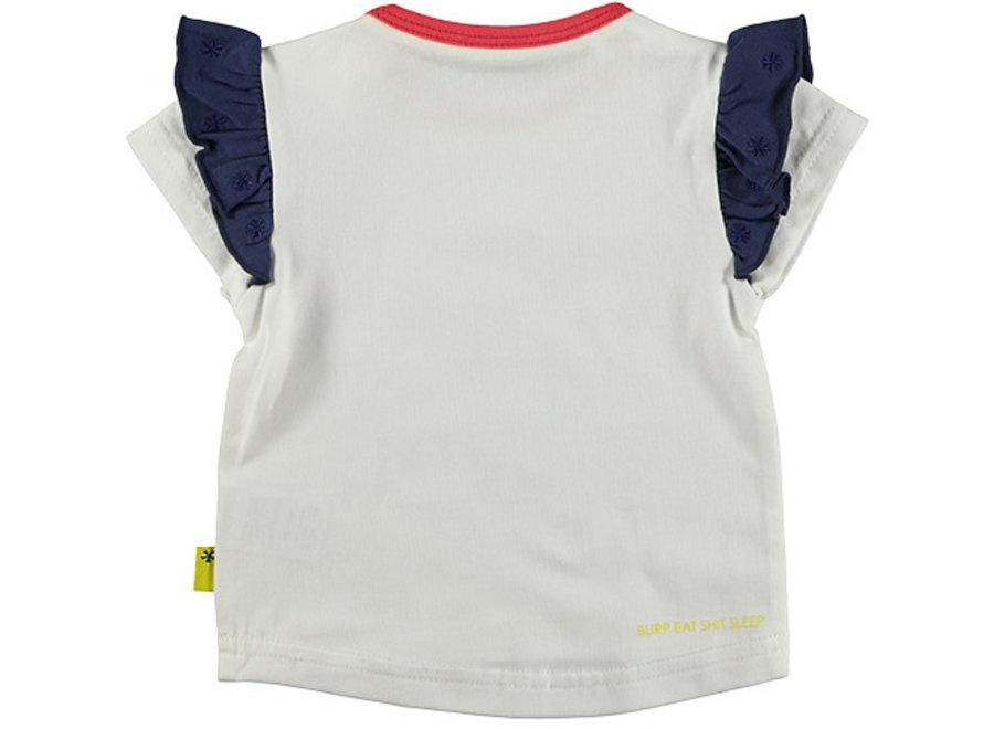 Shirt sh. sl. One of A Kind White