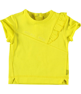 B.e.s.s Shirt sh. sl. Ruffle Mini Me Yellow