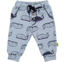Pants AOP whales Lightblue