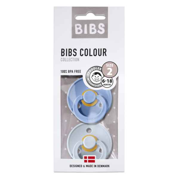 BIBS Bibs speen maat 2 diverse kleurtjes