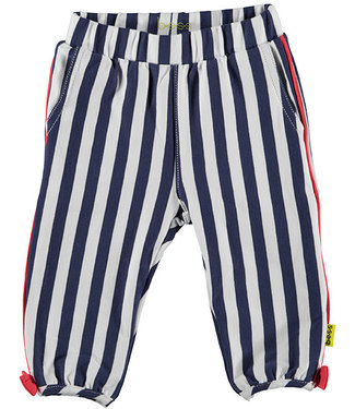 B.e.s.s Pants Striped With Piping