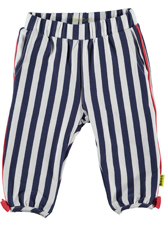 Pants Striped With Piping