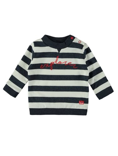 Bampidano Baby Boys Sweater Gestreept Navy