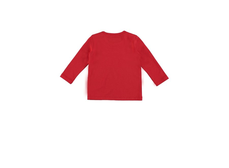 Baby Boys T-shirt red  Bon Voyage