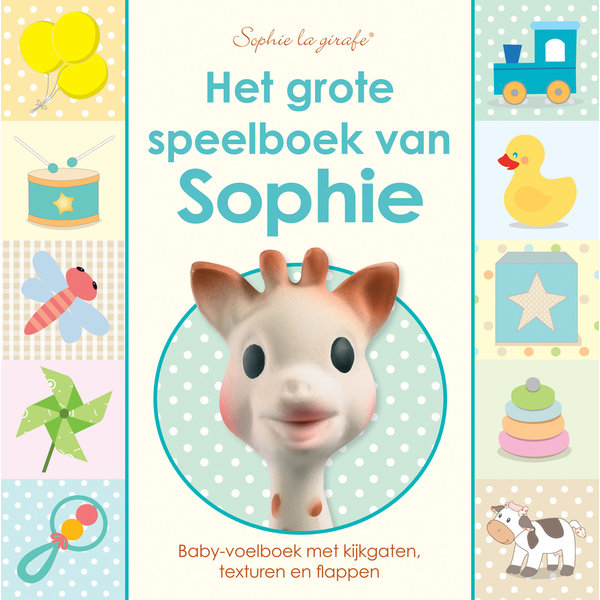 Sophie de giraf voelboek: Het grote speelboek van Sophie