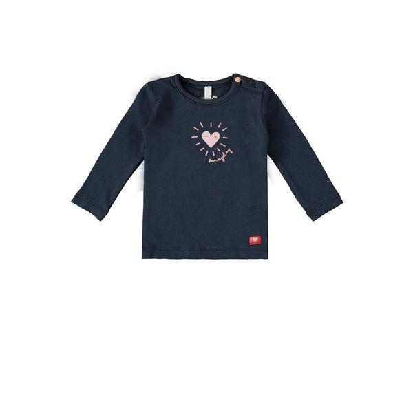 Baby Girls T-shirt l/s Sunny Navy