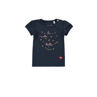 Bampidano Baby Girls T-shirt La Vita Navy