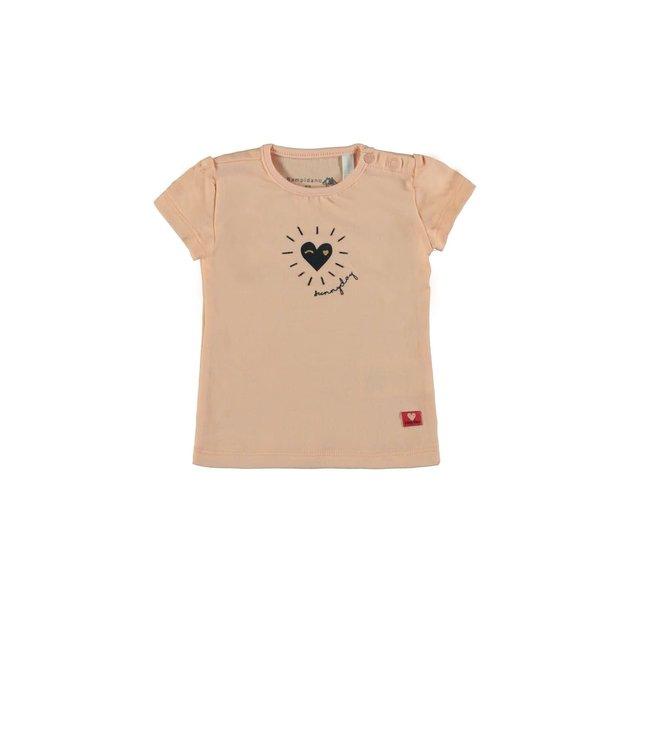Bampidano Baby Girls T-shirts La Vita Pink