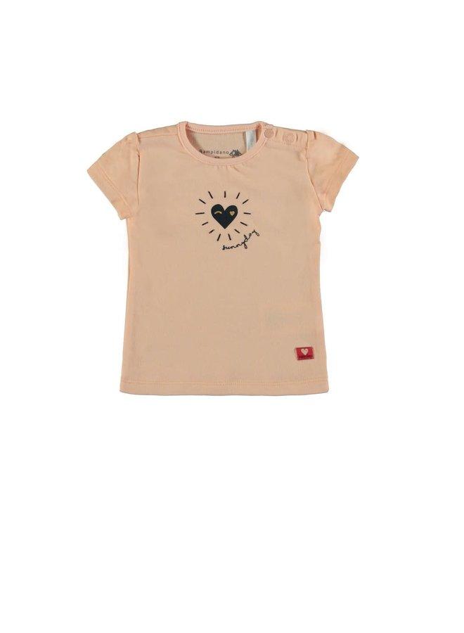 Baby Girls T-shirts La Vita Pink