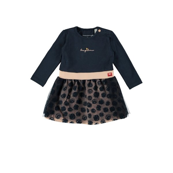 Baby Girls Multi Dress Navy