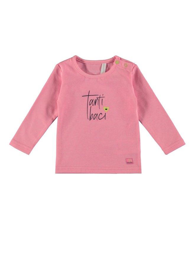 Baby Girls T-shirt Tanti Pink