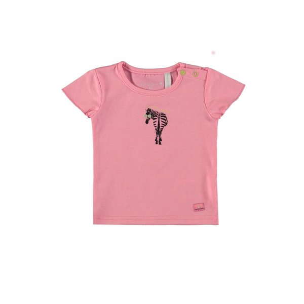 Baby Girls T-shirt Zebra Pink