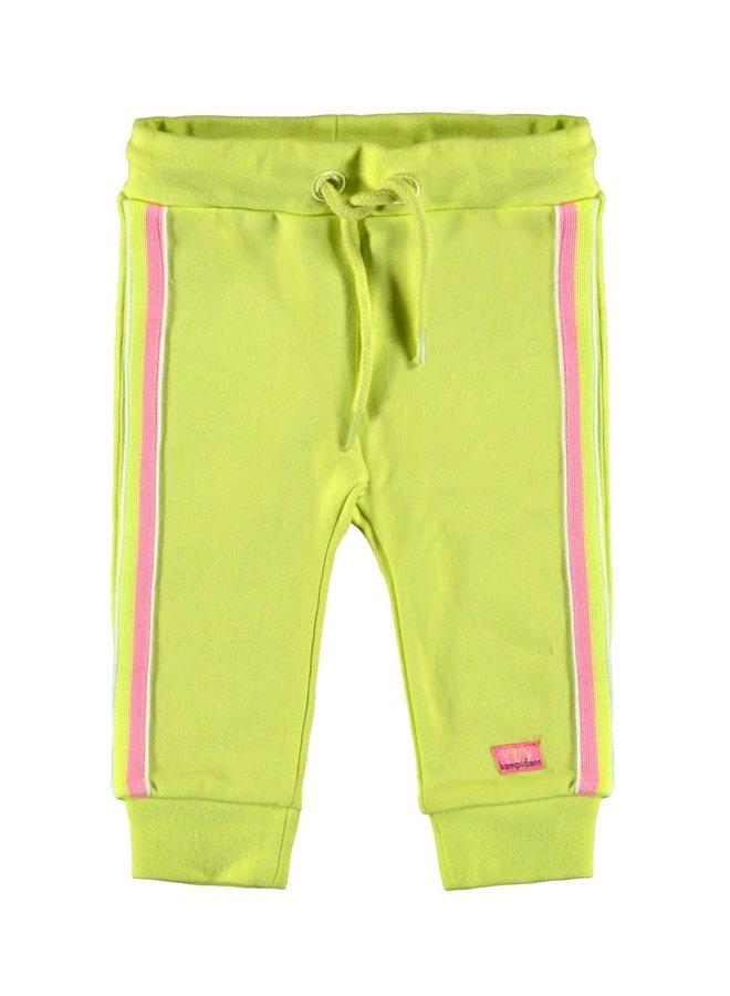 Baby Sweat Broek Yellow