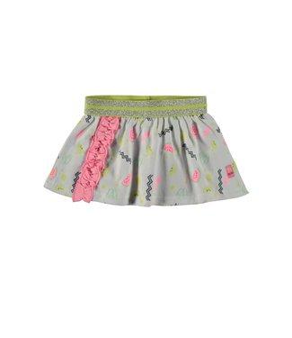 Bampidano Baby Girls Skirt Allover Print Pink