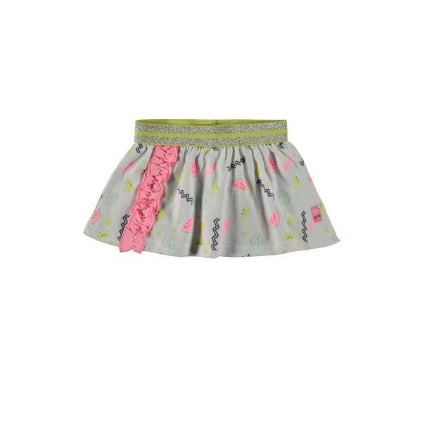 Baby Girls Skirt Allover Print Pink