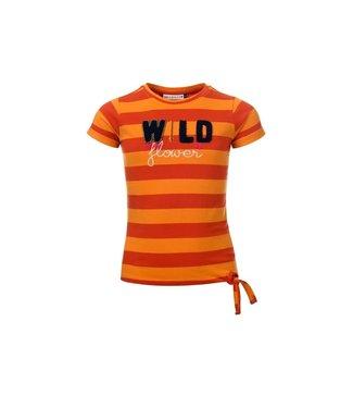 Looxs Shirt oranje streep