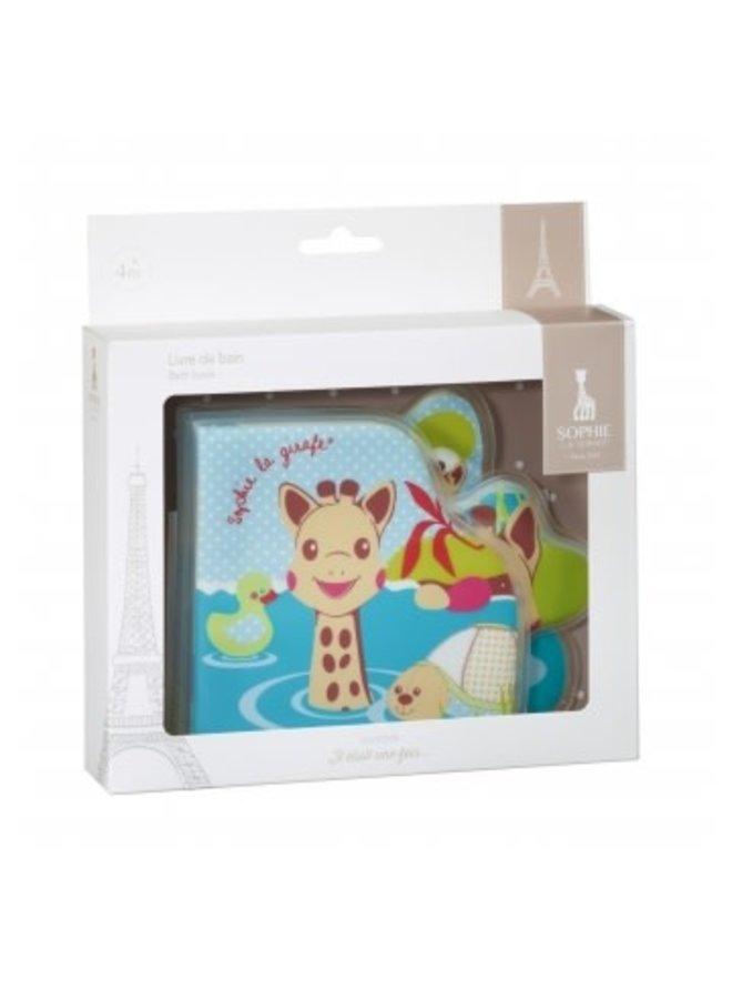 Sophie de giraf badboekje in wit geschenkdoosje
