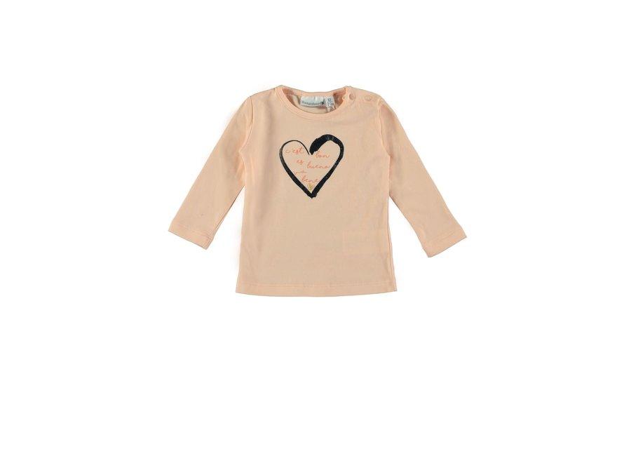 Baby Girls T-shirt C'est Pink