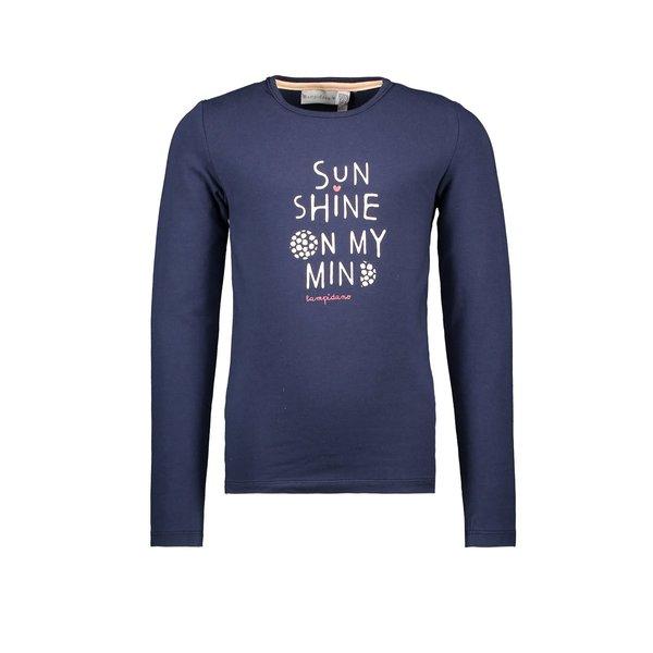 Kids Girls T-shirt Sunshine Navy