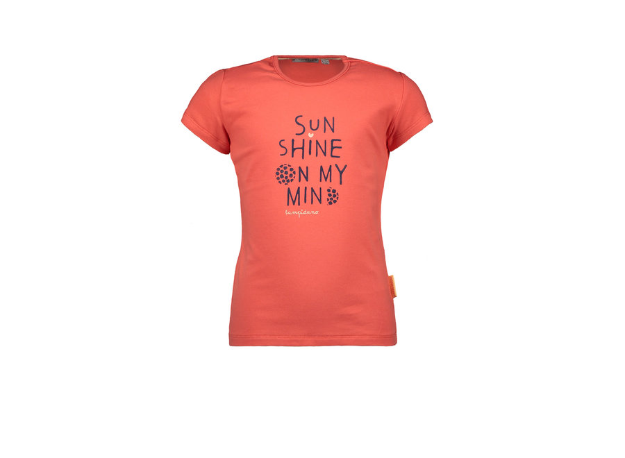 Kids Girls T-shirt Hola Red