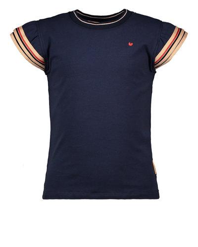 Bampidano Kids Girls T-shirt Fancy Navy