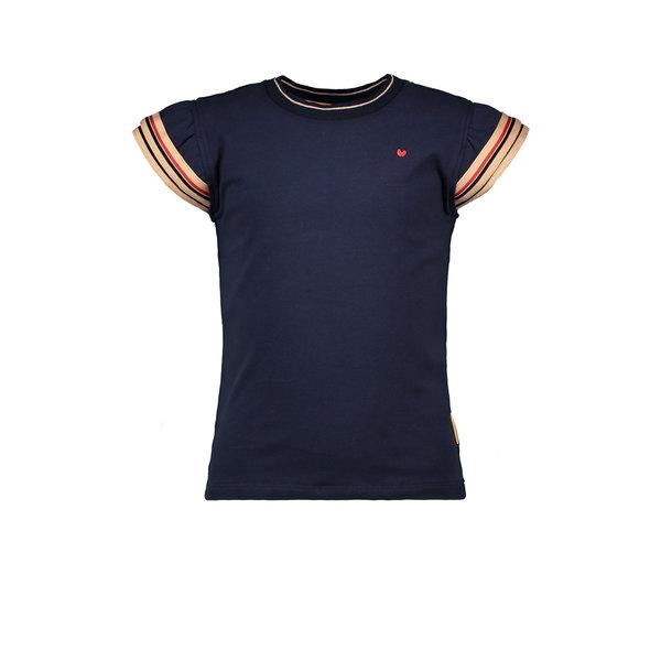 Kids Girls T-shirt Fancy Navy