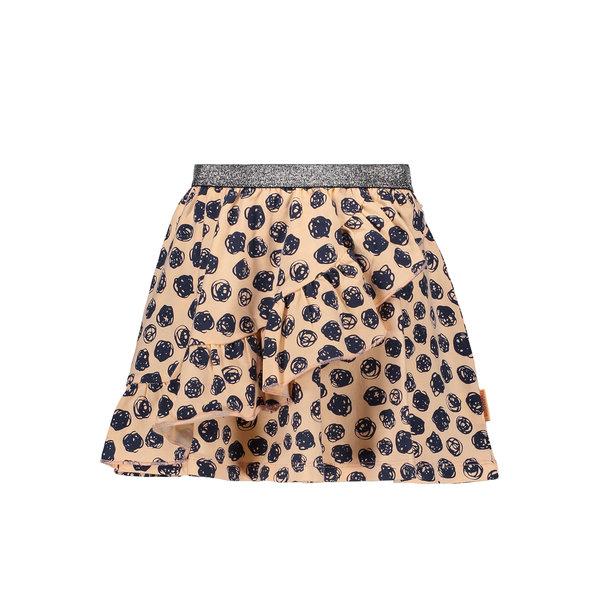 Kids Girls Skirt Allover Print Light Pink