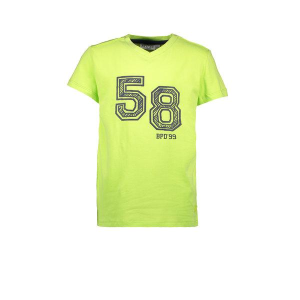Kids Boys T-shirt V-Neck 58 Groen