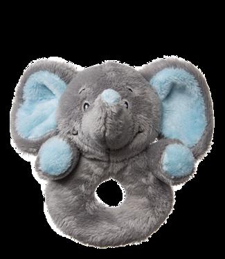 My Teddy My teddy rammelaar olifant roze/blauw