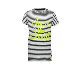 Bampidano Kids Boys T-shirt Chase Stripe Navy
