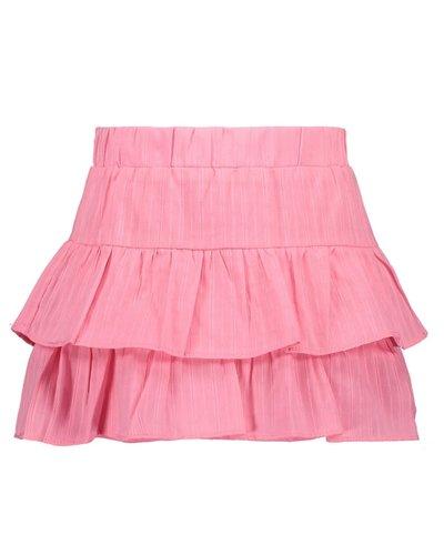 Bampidano Kids Girls Katoenen Brodery Skirt Pink