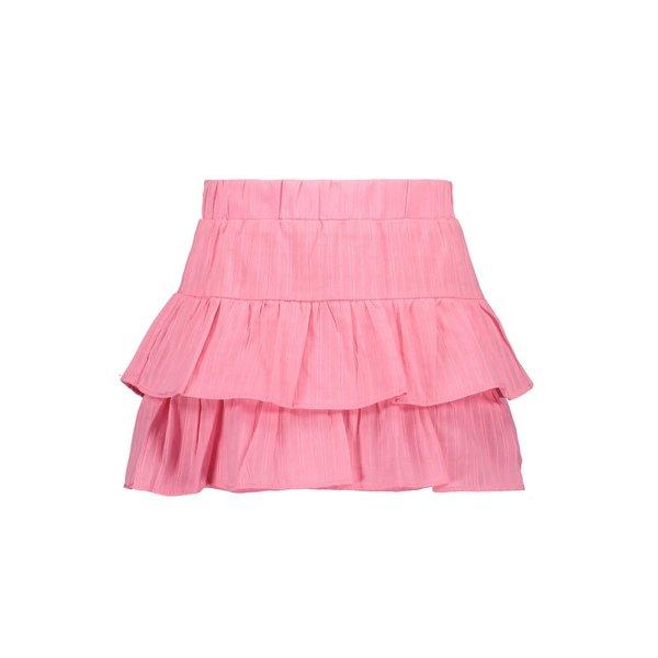 Kids Girls Katoenen Brodery Skirt Pink