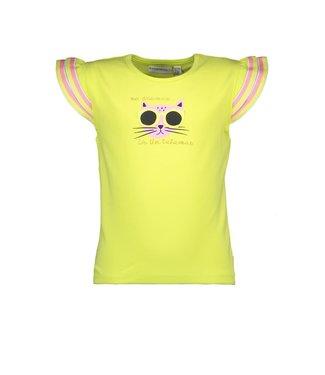 Bampidano Kids Girls T-shirt Fancy Yellow