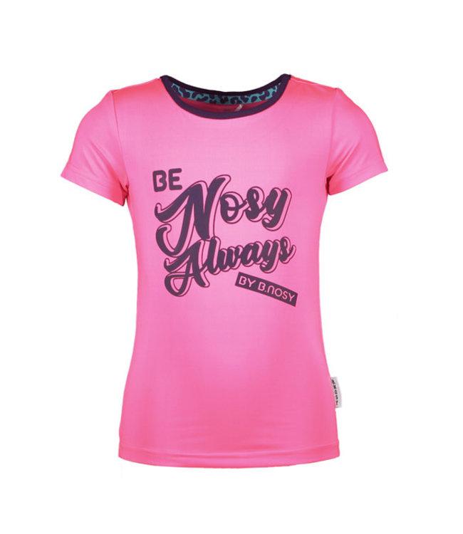B.nosy Shirt roze 5440