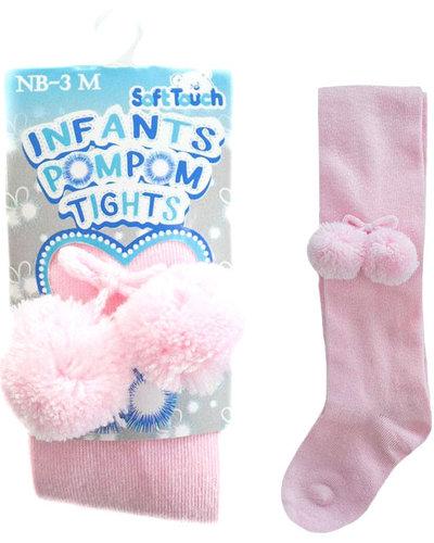 Soft Touch Maillot roze pom pom