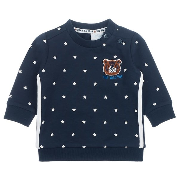 Sweater AOP Marine - Smile & Roar