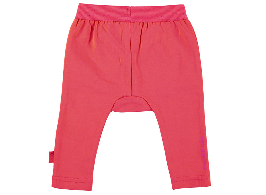 Legging whiskers coral & ocre